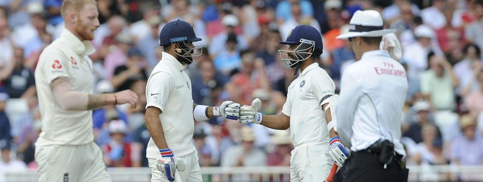 India vs England, LIVE Cricket Score, 3rd Test in Nottingham, Day 1: Rahane departs after feisty 81