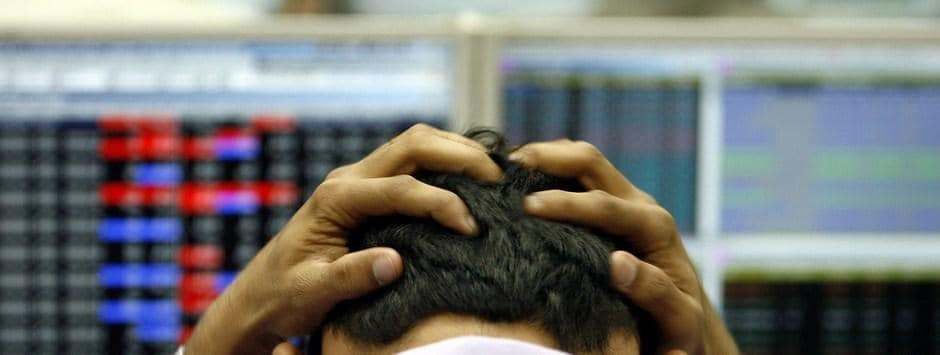 Sensex plummets 464 points to close at  34,316 on liquidity concerns, Nifty down 149 points; RIL, NBFC shares drag