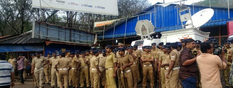 Sabarimala opening today LIVE updates: 'Gandhian protests' turn violent as protesters beat up women journalist, vandalise media vehicles