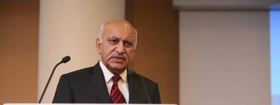 MJ Akbar resigns: #TimesUp for the politician and predator, but it's time for the author to cut losses and move on