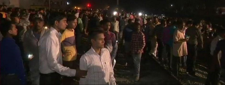 Amritsar train accident LIVE updates: 30 confirmed dead in mishap during burning of Ravana effigy