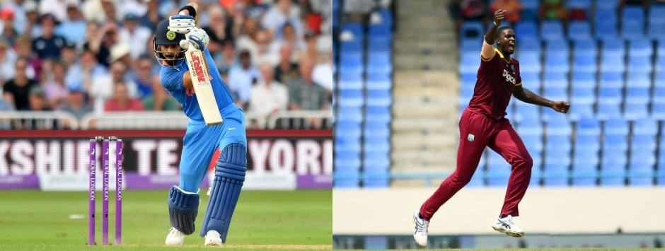 India vs West Indies, LIVE cricket score, 1st ODI at Guwahati: Rohit, Dhawan begin India's chase
