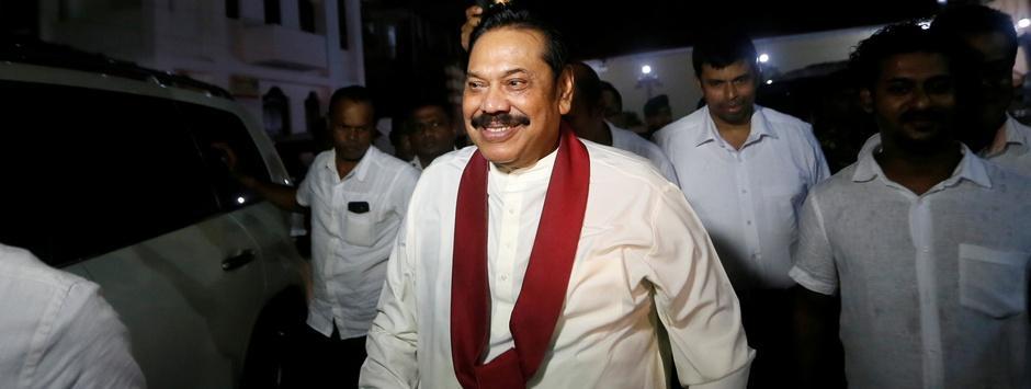 Sri Lanka Parliament votes against newly-appointed prime minister Mahinda Rajapaksa in landmark floor test