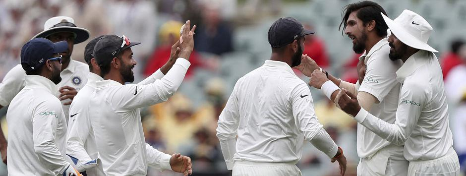 LIVE Cricket Score, India vs Australia, 1st Test at Adelaide, Day 5: Marsh, Paine look to bring stability back