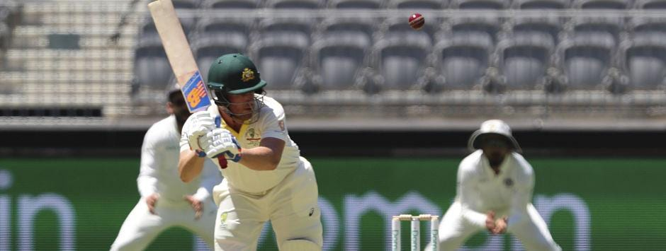 India vs Australia, LIVE Cricket Score, 2nd Test at Perth, Day 1: Finch, Harris bring fifty up for Australia