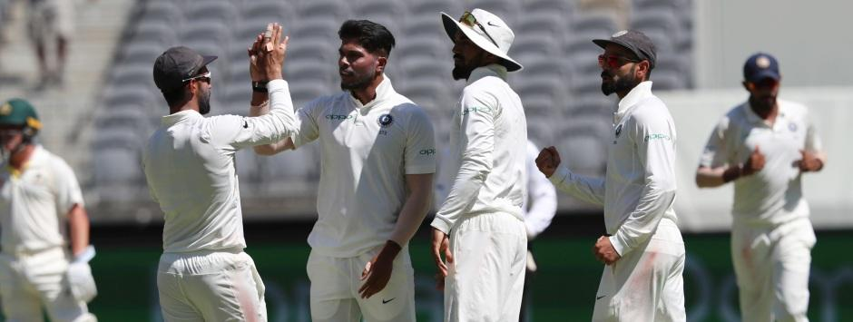 India vs Australia, LIVE Cricket Score, 2nd Test at Perth, Day 1: Visitors hit back with three wickets in second session