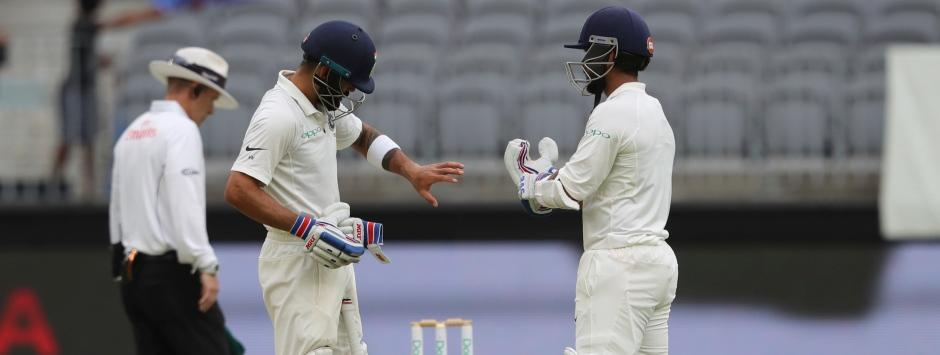 India vs Australia, Highlights, 2nd Test at Perth, Day 2, Full Cricket Score: Kohli, Rahane take visitors to 172/3 at Stumps