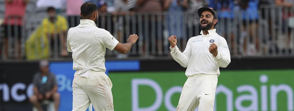 India vs Australia, LIVE Cricket Score, 2nd Test at Perth, Day 4: Shami picks five-wicket haul, removes Khawaja