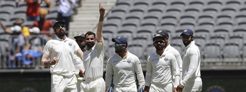 India vs Australia, LIVE Cricket Score, 2nd Test at Perth, Day 4: Lyon departs as Shami picks his sixth victim