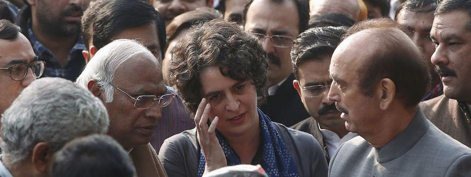 Congress propels Priyanka Gandhi to take chin off SP-BSP alliance, attempts to rekindle old flame with Brahmins