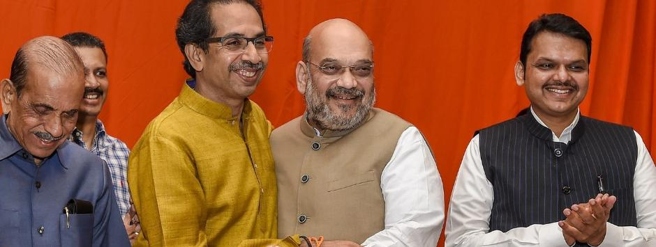 BJP to fight from 25 Lok Sabha seats in Maharashtra, Shiv Sena gets 23 as two parties announce alliance