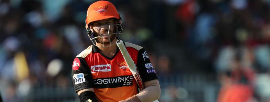 IPL 2019 LIVE score, KKR vs SRH Match at Kolkata: David Warner dismissed for 85
