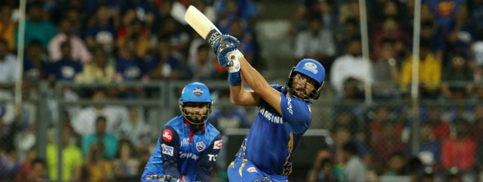 IPL 2019 LIVE score, MI vs DC Match at Mumbai: Yuvraj, Krunal keep MI's hopes alive