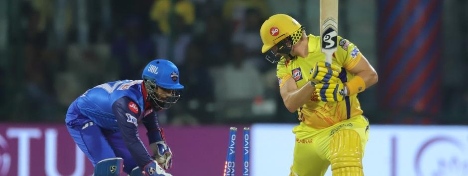 IPL 2019 LIVE Score, DC vs CSK Match at Delhi: Shane Watson out stumped after an attacking 44
