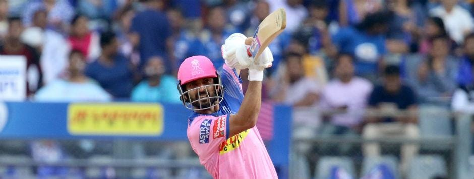 IPL 2019 LIVE SCORE, RR vs MI Match at Sawai Mansingh Stadium: Rahane, Samson guide Royals to quick start