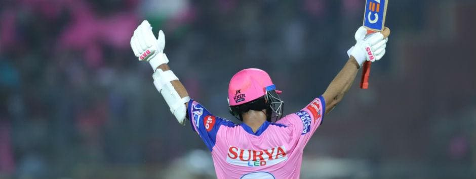 IPL 2019, LIVE SCORE, RR vs DC Match at Jaipur: Rahane's unbeaten 105 helps Royals finish on 191/6
