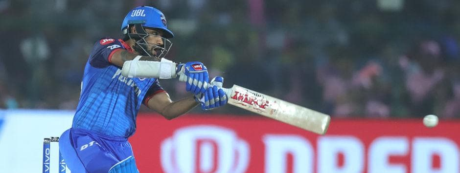 IPL 2019, LIVE SCORE, RR vs DC Match at Jaipur: Dhawan's attack puts Rajasthan on back-foot