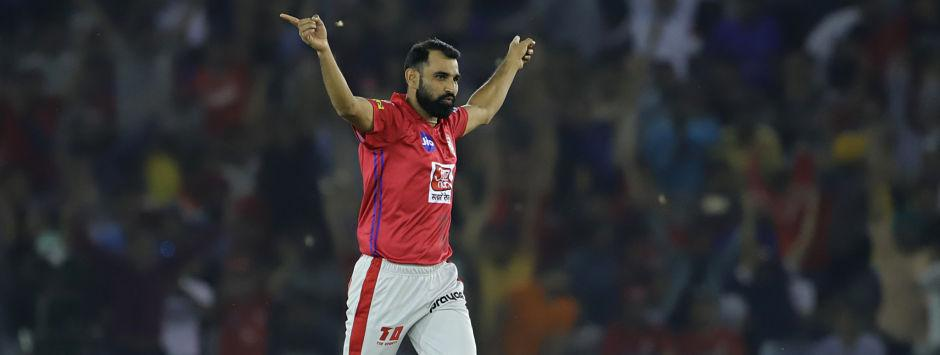 IPL 2019 LIVE SCORE, RCB vs KXIP Match at M Chinnaswamy Stadium: Shami removes Kohli for 13