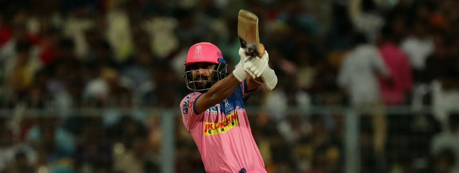 IPL 2019 LIVE SCORE, KKR vs RR Match at Eden Gardens: Rahane, Samson fall prey to spin