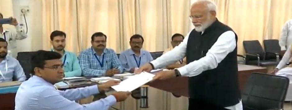 Narendra Modi in Varnasi; Lok Sabha Election 2019 LIVE updates: PM submits nomination papers in presence of 4 proposers