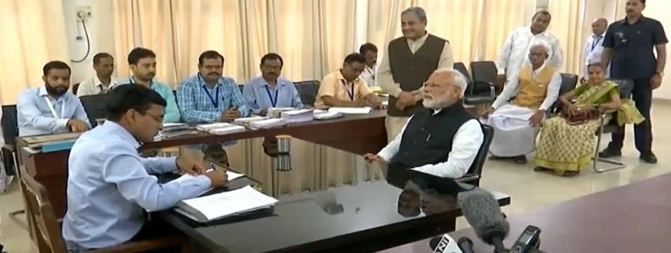 Narendra Modi in Varanasi; Lok Sabha Election 2019 LIVE updates: PM submits nomination papers in presence of 4 proposers