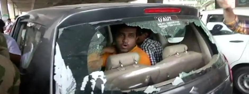 Lok Sabha Election 2019 Final Phase voting LIVE Updates: Anupam Hazra's car 'vandalised' after BJP candidate alleges booth capturing by TMC