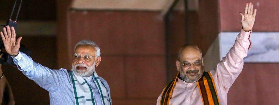 Lok Sabha Election Exit Poll Full Results 2019: Pollsters predict 287-368 for BJP-led NDA alliance, 77-132 for UPA