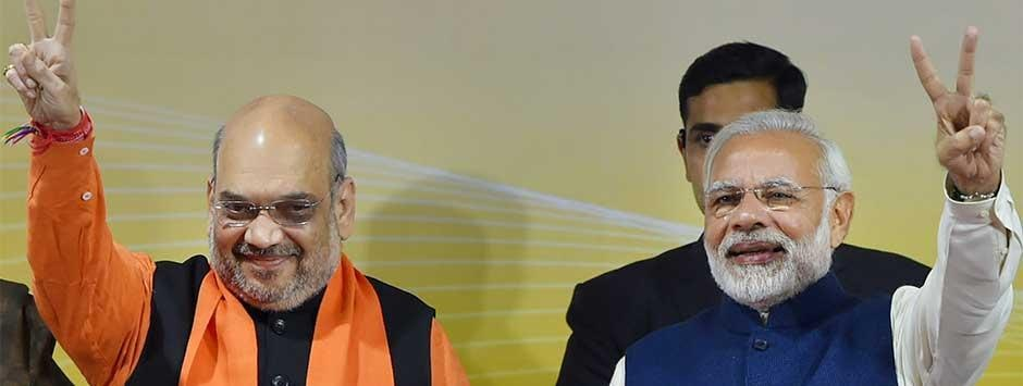 Exit poll results indicate Narendra Modi-helmed NDA set to return in 2019, UPA may struggle to touch 140 seats