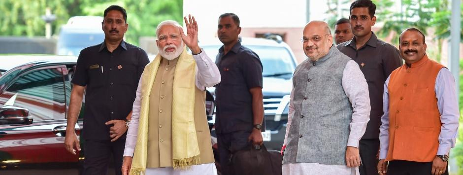 Lok Sabha Election Results 2019 LIVE Updates: Uddhav Thackeray, Nitish Kumar arrive at Ashoka Hotel for Amit Shah's NDA dinner