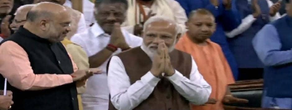 Lok Sabha election results 2019 LIVE updates: NDA leaders endorse Narendra Modi as leader of alliance