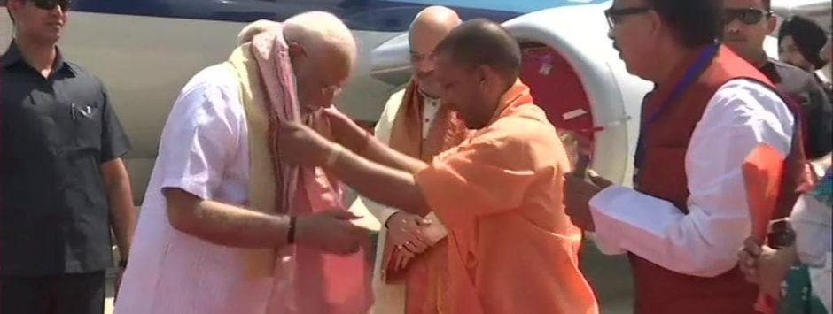 Narendra Modi in Varanasi LIVE updates: PM heads to Kashi Vishwanath to offer prayers, will thank voters for 'reposing faith' in BJP