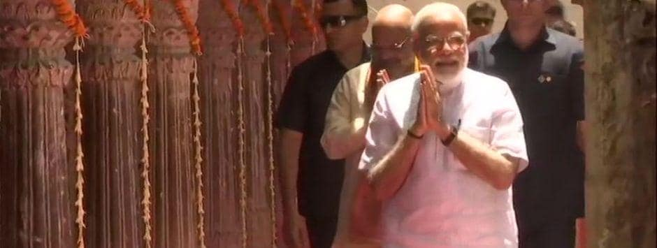 Narendra Modi in Varanasi LIVE updates: 'You're lucky to have PM as your candidate', Amit Shah tells constituency workers