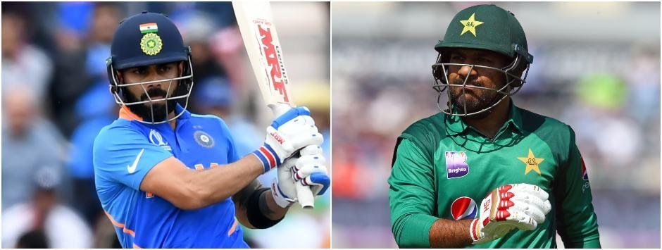 India vs Pakistan LIVE SCORE, ICC World Cup 2019 Match at Manchester: Virat Kohli's men start favourites in much-awaited clash