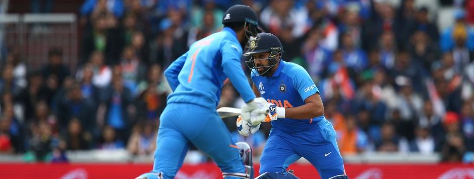India vs Pakistan LIVE SCORE, ICC World Cup 2019 Match at Manchester: Rohit Sharma notches brilliant fifty
