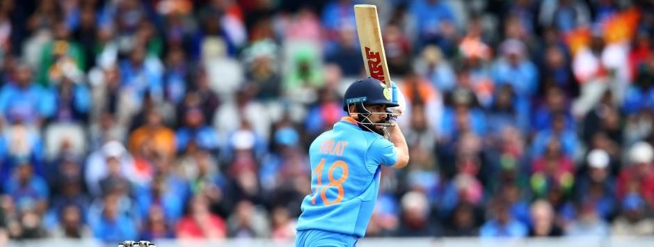 India vs Pakistan LIVE Match SCORE, ICC Cricket World Cup 2019 at Manchester: Virat Kohli leads charge with fifty