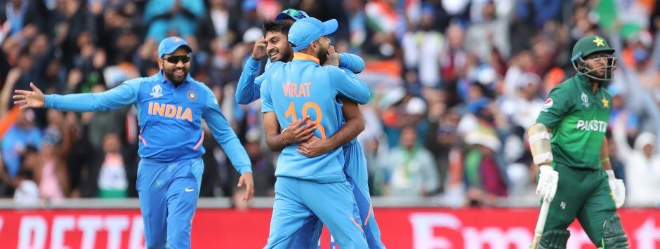 India vs Pakistan LIVE Match SCORE, ICC Cricket World Cup 2019 at Manchester: Shankar removes Imam early in 337 chase