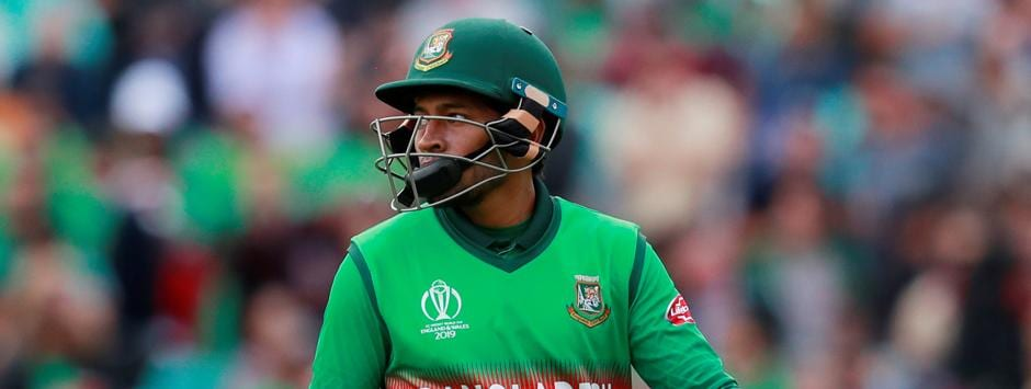 West Indies vs Bangladesh LIVE SCORE, ICC Cricket World Cup 2019 Match: Mushfiqur Rahim caught-behind for 1