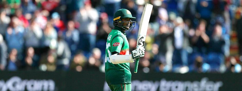 West Indies vs Bangladesh LIVE SCORE, ICC Cricket World Cup 2019 Match: Shakib Al Hasan brings up fifty