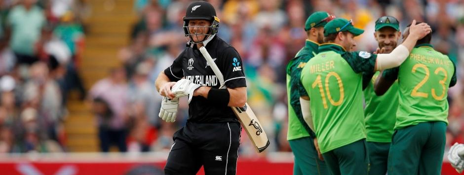 New Zealand vs South Africa LIVE SCORE, ICC Cricket World Cup 2019 Match: Kiwis lose Guptill, Taylor in quick succession