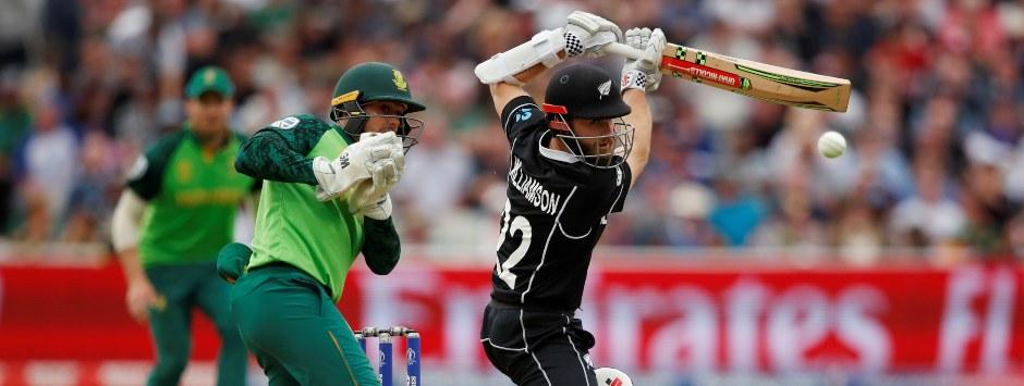 New Zealand vs South Africa LIVE SCORE, ICC Cricket World Cup 2019 Match: Williamson, Neesham steady Kiwis after quick wickets
