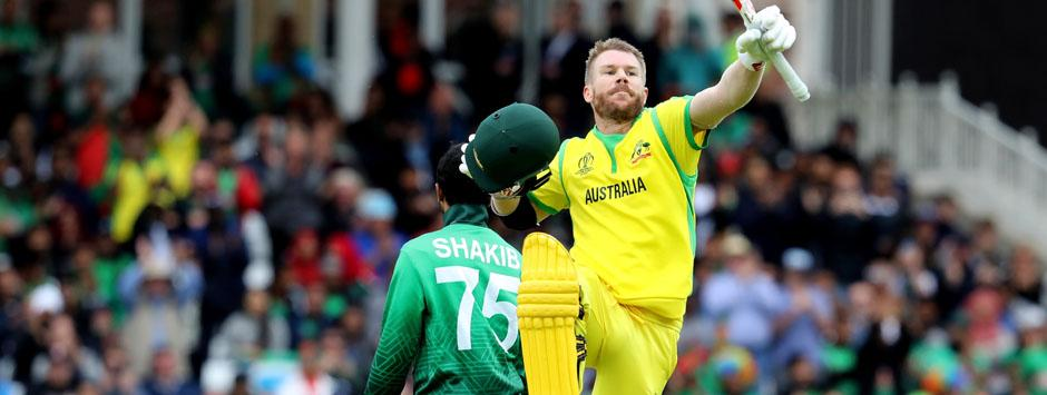 Australia vs Bangladesh LIVE SCORE, ICC Cricket World Cup 2019 Match: David Warner's massive knock keeps Aussies in command