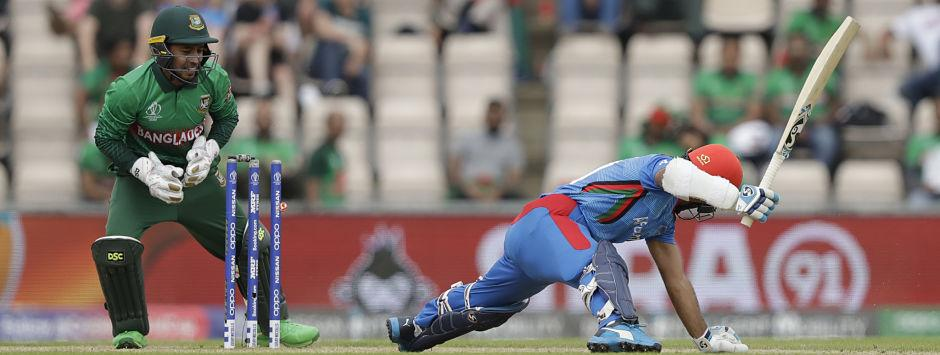 Bangladesh vs Afghanistan LIVE SCORE, ICC Cricket World Cup 2019 Match: Hossain gets rid of Hashmatullah