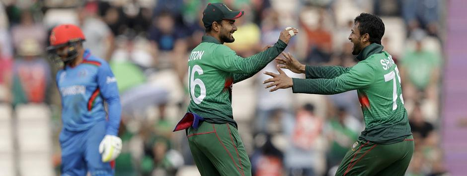 Bangladesh vs Afghanistan LIVE SCORE, ICC Cricket World Cup 2019 Match: Afghans in trouble after Shakib's twin strikes