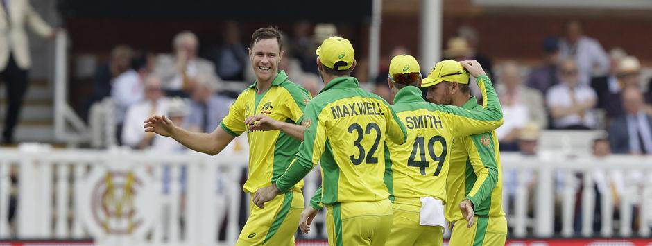 Highlights, England vs Australia, ICC Cricket World Cup 2019 Match, Full Cricket Score: Finch, Behrendorff star as Aussies seal semi-final spot