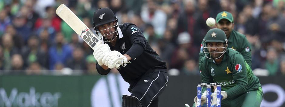 New Zealand vs Pakistan LIVE SCORE, ICC Cricket World Cup 2019 Match: De Grandhomme completes half-century