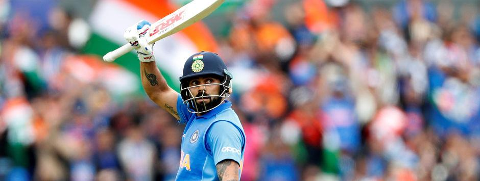 India vs West Indies LIVE SCORE, ICC Cricket World Cup 2019 Match: Jadhav departs for 7 after Virat completes fifty