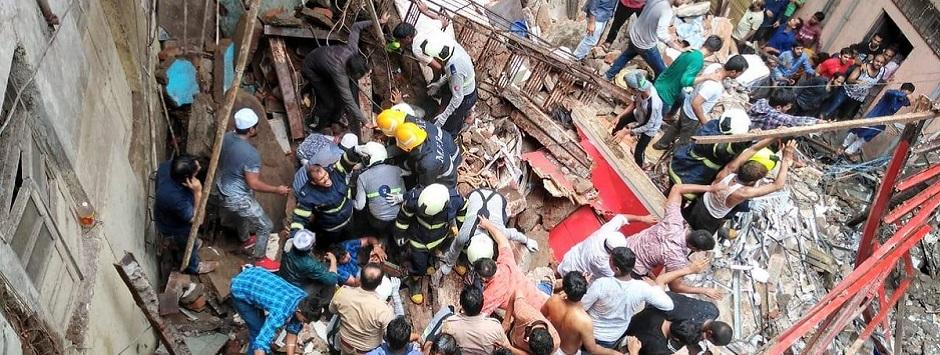 Mumbai Dongri Building Collapse LIVE updates: Two dead and five rescued, reports ANI; NDRF team conduct search and rescue
