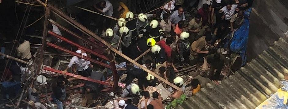 Mumbai Dongri Building Collapse LIVE updates: Narendra Modi calls disaster 'anguishing'; four people, including minor boy, killed