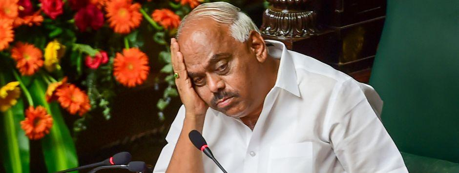 Karnataka political crisis: Only option left for BJP, Congress-JD(S) rebel MLAs is no-trust motion against Speaker Ramesh