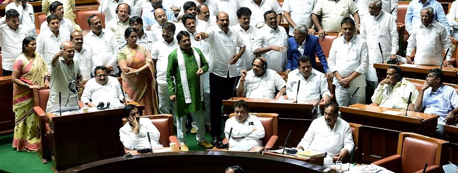 Karnataka Assembly Floor Test LIVE Updates: Congress demands trust vote be delayed by four weeks after rebel MLAs write to Speaker seeking extra time
